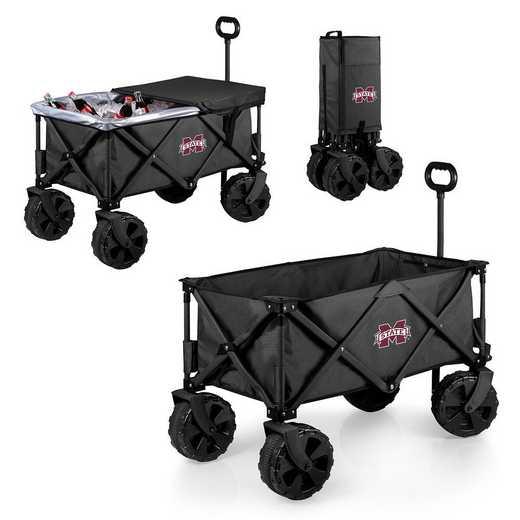 741-85-679-384-0: Mississippi State Bulldogs Adventure Wagon Elite (Dark Grey)