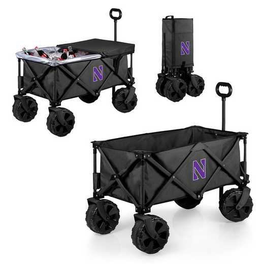 741-85-679-434-0: Northwestern Wildcats - Adventure Wagon Elite (Dark Grey)