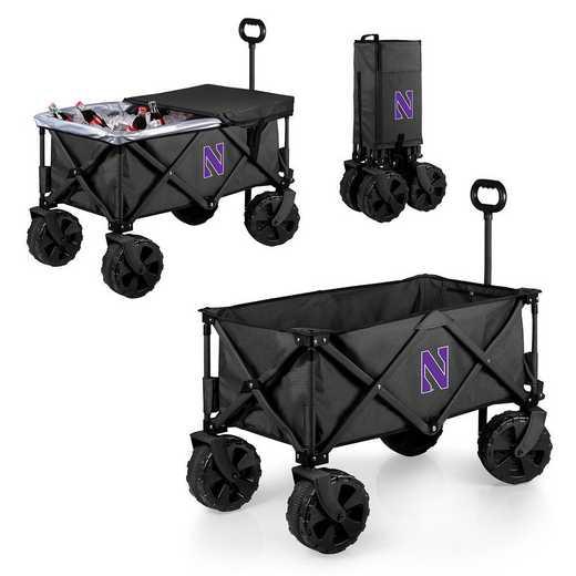 741-85-679-434-0: Northwestern Wildcats - Adventure Wagon Elite (Dark Grey)