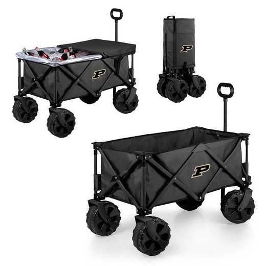 741-85-679-514-0: Purdue Boilermakers - Adventure Wagon Elite (Dark Grey)