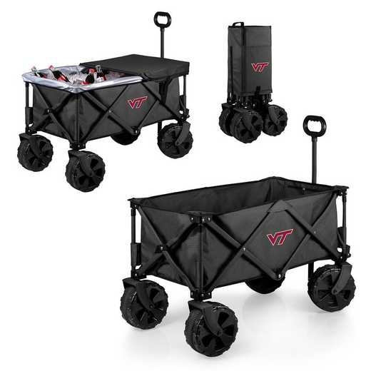 741-85-679-604-0: Virginia Tech Hokies - Adventure Wagon Elite (Dark Grey)