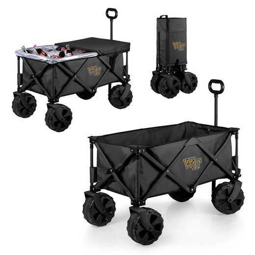 741-85-679-614-0: Wake Forest Demon Deacons Adventure Wagon Elite (Dark Grey)