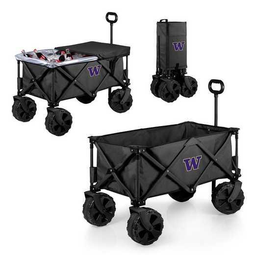 741-85-679-624-0: Washington Huskies - Adventure Wagon Elite (Dark Grey)