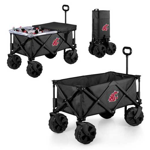 741-85-679-634-0: Washington State Cougars - Adventure Wagon Elite (Dark Grey)
