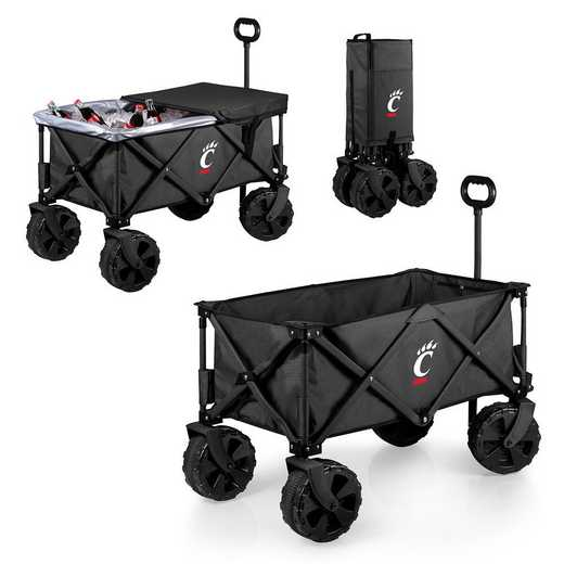 741-85-679-664-0: Cincinnati Bearcats - Adventure Wagon Elite (Dark Grey)