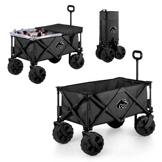 741-85-679-704-0: Boise State Broncos - Adventure Wagon Elite (Dark Grey)