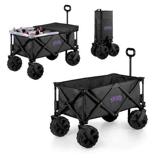 741-85-679-844-0: TCU Horned Frogs - Adventure Wagon Elite (Dark Grey)