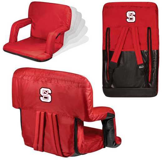 618-00-100-424-0: NC State Wolfpack - Ventura  Stadium Seat (Red)