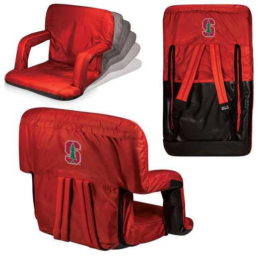 618-00-100-534-0: Stanford Cardinal - Ventura  Stadium Seat (Red)