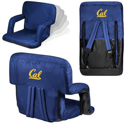 618-00-138-074-0: Cal Bears - Ventura  Stadium Seat (Navy)