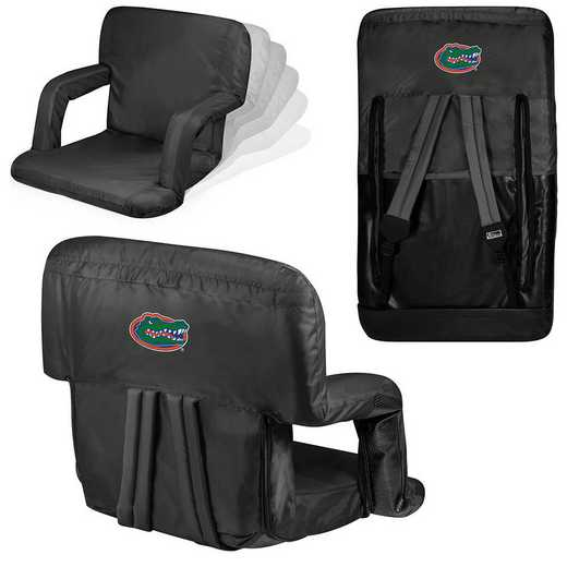 618-00-179-164-0: Florida Gators - Ventura  Stadium Seat (Black)
