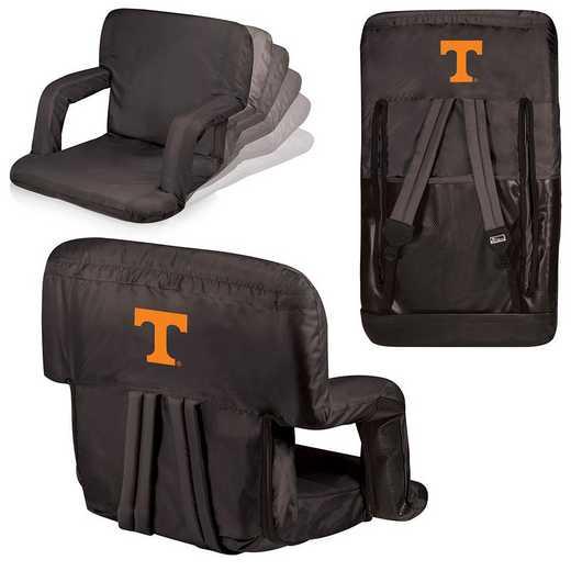 618-00-179-554-0: Tennessee Volunteers - Ventura  Stadium Seat (Black)