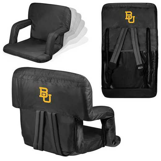618-00-179-924-0: Baylor Bears - Ventura  Stadium Seat (Black)