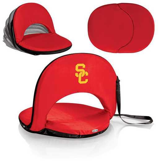 626-00-100-094-0: USC Trojans - Oniva  Seat (Red)
