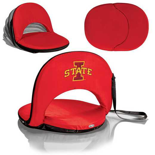 626-00-100-234-0: Iowa State Cyclones - Oniva  Seat (Red)
