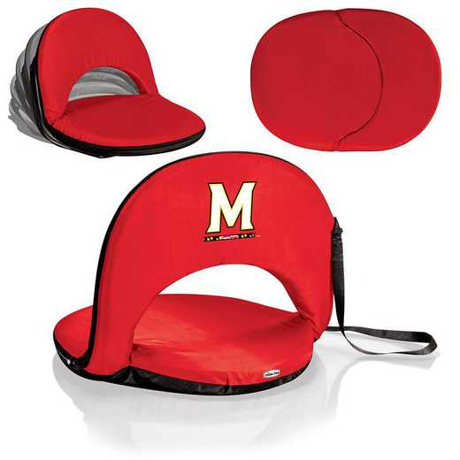 626-00-100-314-0: Maryland Terrapins - Oniva  Seat (Red)