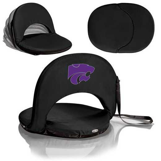 626-00-179-254-0: Kansas State Wildcats - Oniva  Seat (Black)