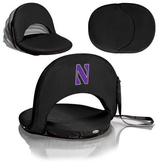 626-00-179-434-0: Northwestern Wildcats - Oniva  Seat (Black)