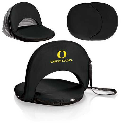 626-00-179-474-0: Oregon Ducks - Oniva  Seat (Black)