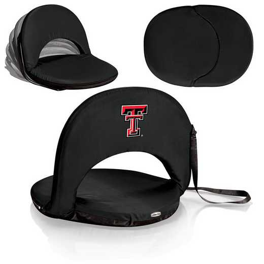 626-00-179-574-0: Texas Tech Red Raiders - Oniva  Seat (Black)