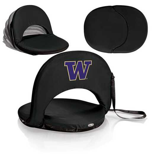 626-00-179-624-0: Washington Huskies - Oniva  Seat (Black)