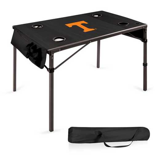 799-00-179-554-0: Tennessee Volunteers - Travel Table (Black)
