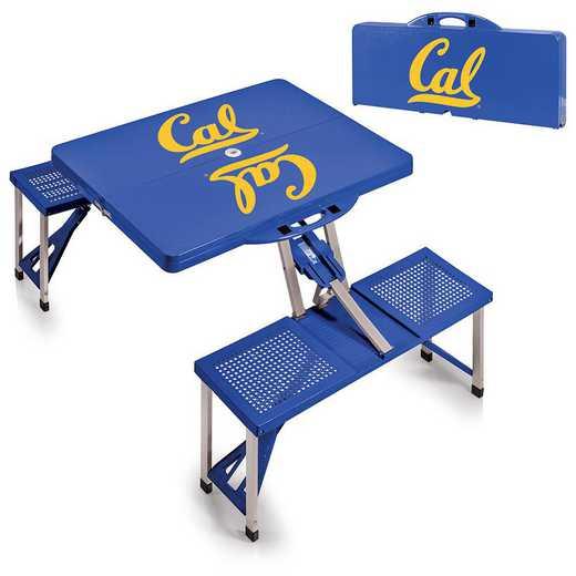 811-00-139-074-0: Cal Bears - Portable Picnic Table (Blue)