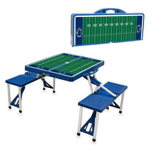 811-00-139-495-0: Penn State Nittany Lions -Portable Picnic Table w/SFD (Blue)
