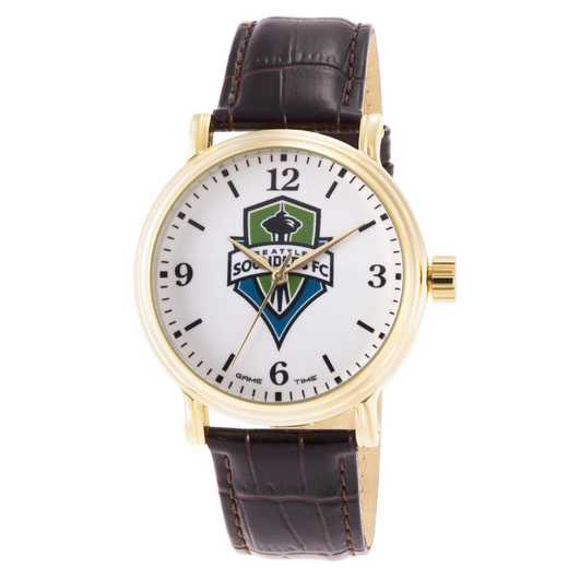 GT000015: Gametime MLS Seattle Sounders FC Men's Shiny Gold Vintage