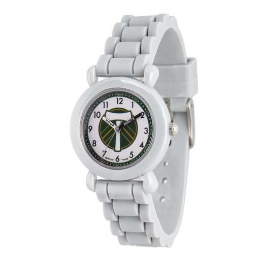 GT000021: Gametime MLS Portland Timbers Kids' Grey Plastic Watch