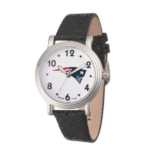 GT000193: Gametime NFL New England Patriots Women's Silver Vintage