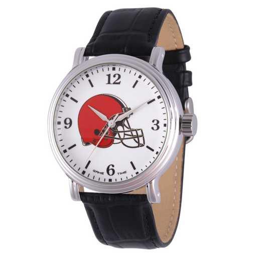 GT000231: Gametime NFL Cleveland Browns Men's Shiny Silver Vintage