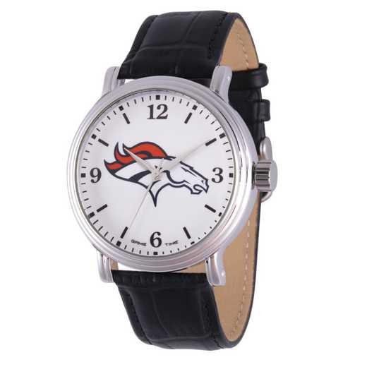 GT000235: Gametime NFL Denver Broncos Men's Shiny Silver Vintage