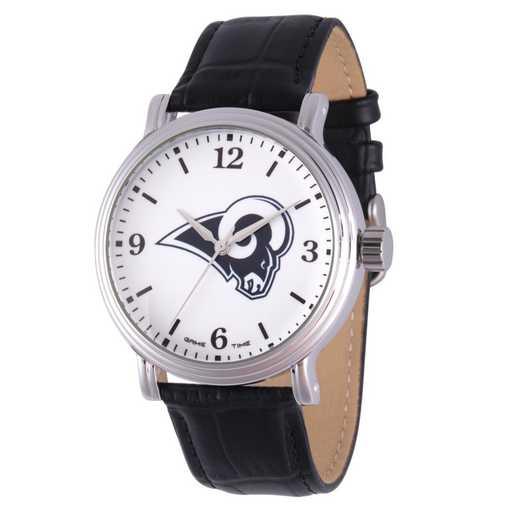 GT000249: Gametime NFL Los Angeles Rams Men's Shiny Silver Vintage