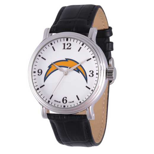 GT000251: Gametime NFL Los Angeles Chargers Men's Shiny Silver Vintage