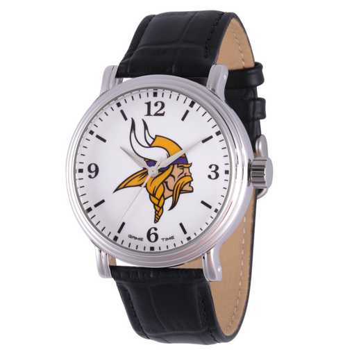 GT000255: Gametime NFL Minnesota Vikings Men's Shiny Silver Vintage