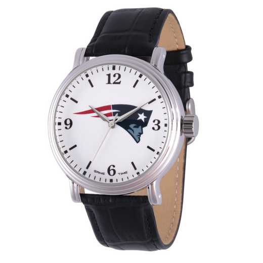 GT000257: Gametime NFL New England Patriots Men's Shiny Silver Vintage