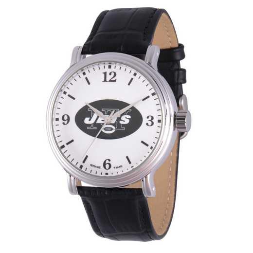 GT000263: Gametime NFL New York Jets Men's Shiny Silver Vintage