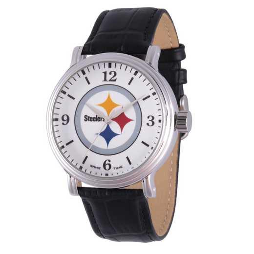 GT000269: Gametime NFL Pittsburgh Steelers Men's Shiny Silver Vintage
