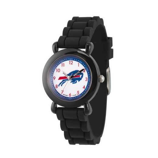 GT000290: Gametime NFL Buffalo Bills Kids' Black Plastic Watch