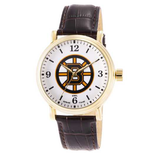 GT000415: Gametime NHL Boston Bruins Men's Shiny Gold Vintage