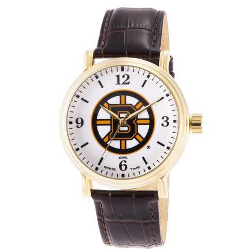 GT000415: Gametime NHL Boston Bruins Men's Shiny Gold Vintage
