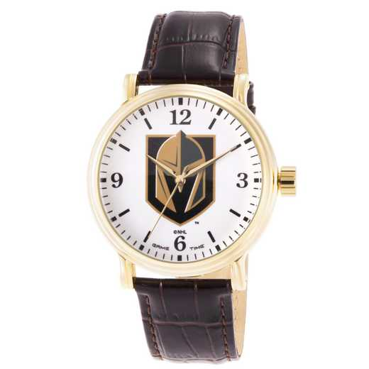 GT000427: Gametime NHL Vegas Golden Knights Men's Shiny Gold Vintage