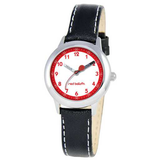 W000197: Red Balloon Kids STNLSTL Time Teach Watch