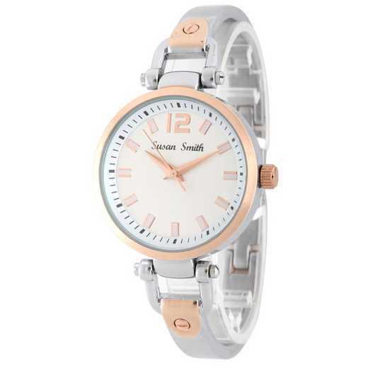 MHK005ST/RT: Ladies Personalized  Rose Two Tone Watch