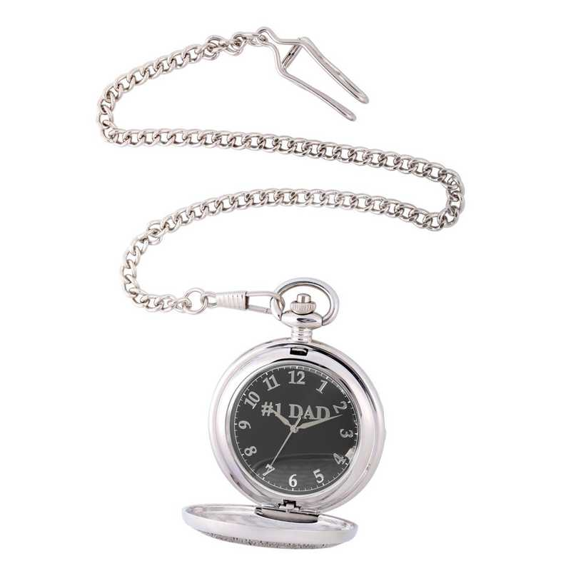 PW00067: Pocket Watch Silver Tone