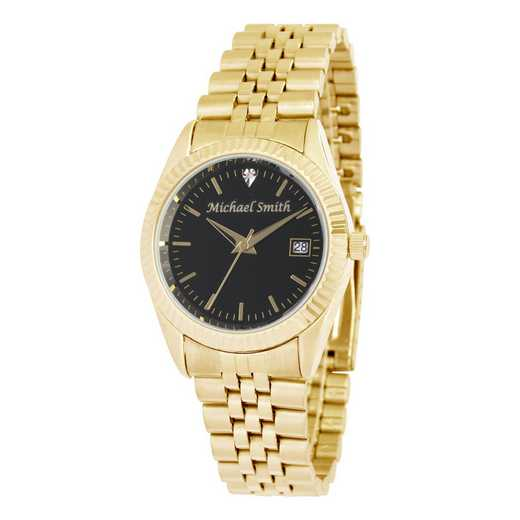 PW00233: Men's Personalized Gold  Watch