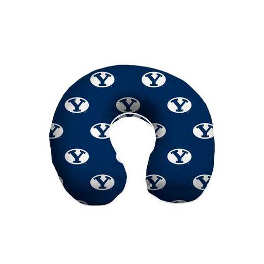 NCAATP-BYU-12:  Memory Foam Travel Pillow