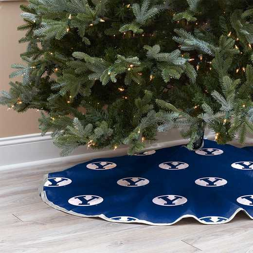 NCAACT-EBYU:  Christmas Tree Skirt