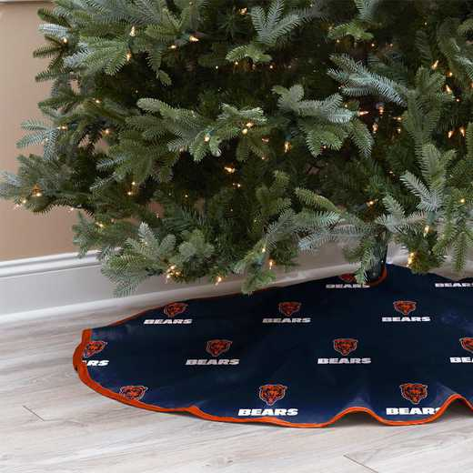 NFLCT-BEAR-12:  Christmas Tree Skirt